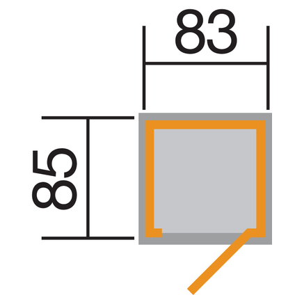 DEBARRAS 361 GR.1 TOIT PLAT