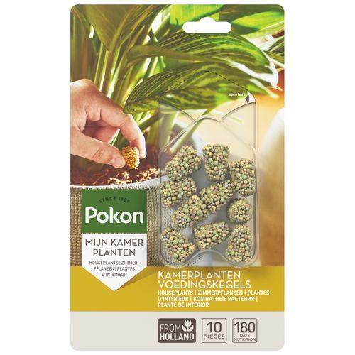 Pokon Kamerplanten Voedingskegels 10st