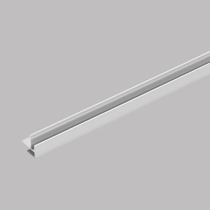Binnen en buitenhoekprofiel voor Dumawall + tegels mat aluminium 2,6 m