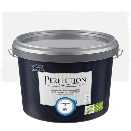 Perfection Muur & Plafond Ultradekkend zijdeglans wit 2,5L