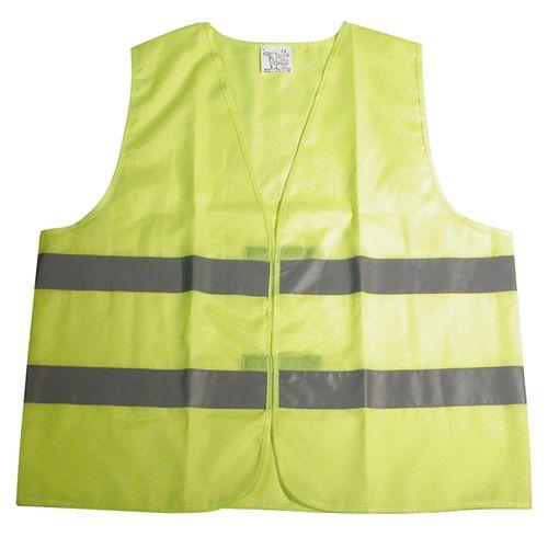 Gilet de sécurité Carpoint Junior jaune