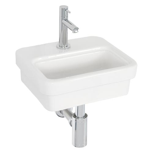 Lave-mains AquaVive Cheran céramique blanc 31cm