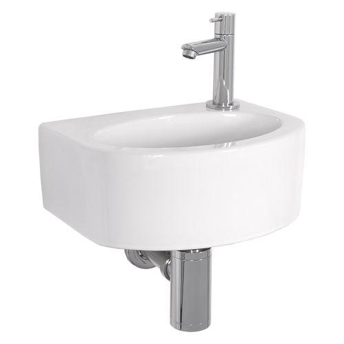 Lave-mains AquaVive Marne céramique blanc 30cm