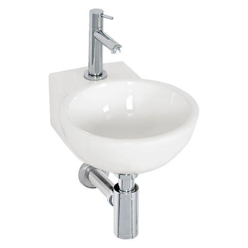AquaVive fonteinset Boutonne keramiek wit 31,5cm