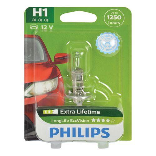 Philips koplamp LongLife EcoVision H1 12258LLECOB1 55W