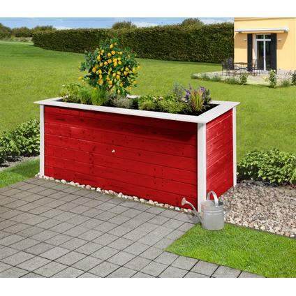Weka moestuinbak 669C zweeds rood 80x205cm