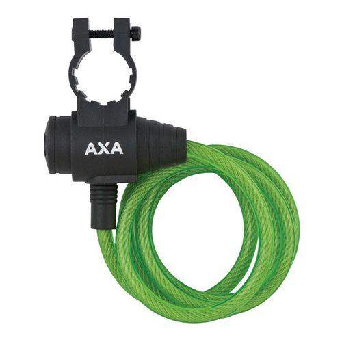 Axa zipp kabelslot groen 120cm