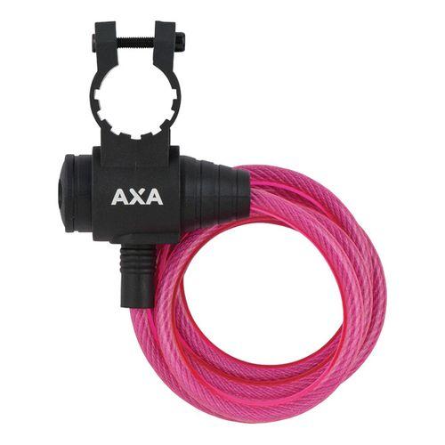 Axa zipp kabelslot roze 120cm