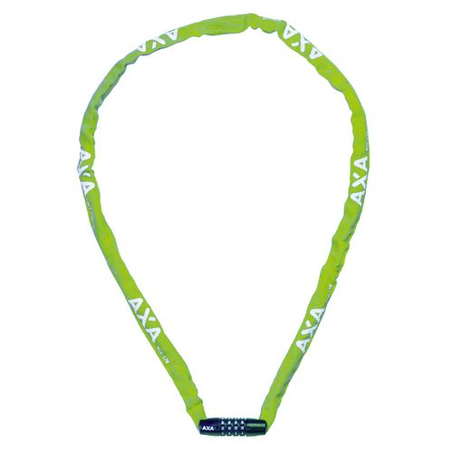 Axa kettingslot rigid rcc 120cm ø3,5mm met code, groen