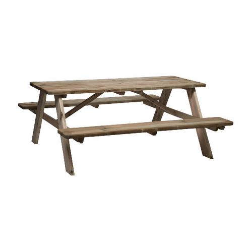 Picknicktafel inklapbaar L