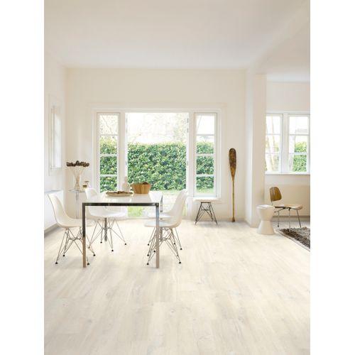 Sol stratifié Quick-Step Moderato Belmont chêne blanc 7mm 1,82m²