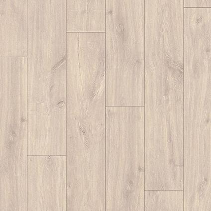 Sol stratifié Quick-Step Calando Varadero chêne gris 8mm 1,60m²