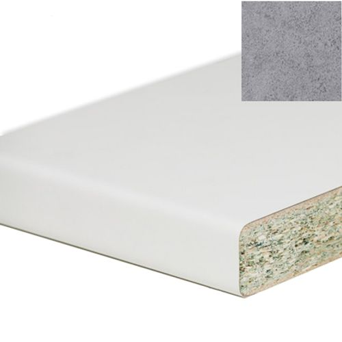 Plan de travail Sencys gris look métal 410 x 60 x 3,8 cm