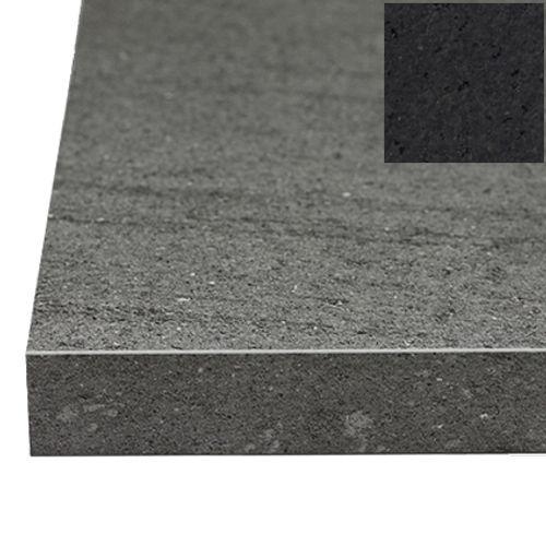 Sencys werkblad Mika zwart 410 x 65 x 3,8 cm