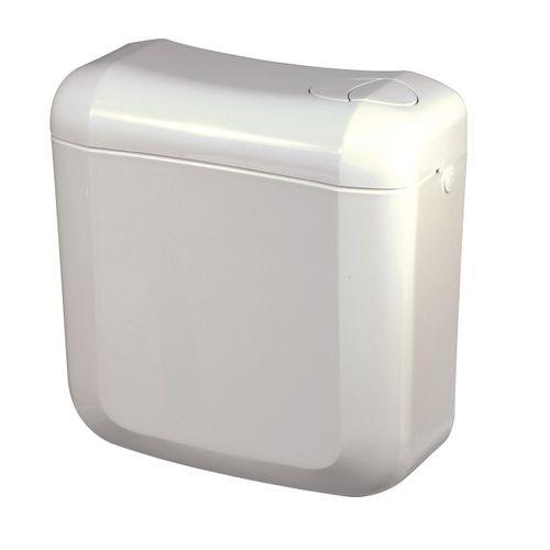 Réservoir bloc duo Baseline dual flush blanc 3/6L