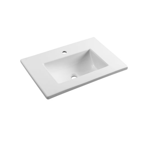 AquaVive wastafel 'Calavon' wit 65 cm