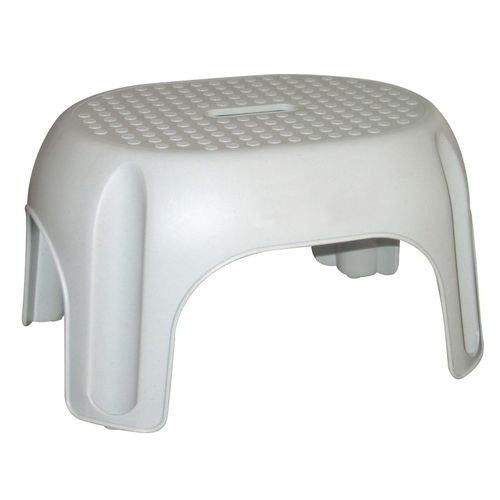 Marchepied one step Curver gris