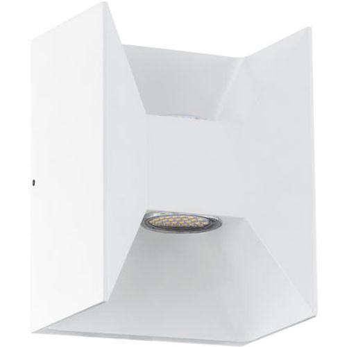 Eglo wandlamp buiten 'Morino' wit 2 x 2,5 W