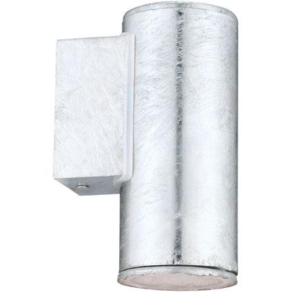Eglo wandlamp Riga 4 zilver kort 3W