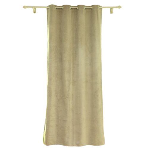 Decomode gordijn Rumba verduisterend ivoor 140 x 280 cm