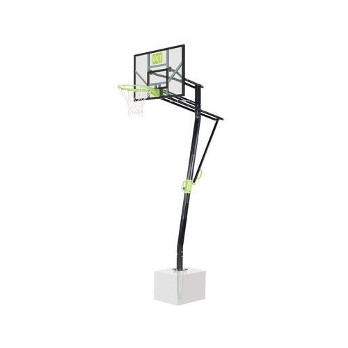 Panneau de basketball EXIT Galaxy pour montage au sol, vert-noir