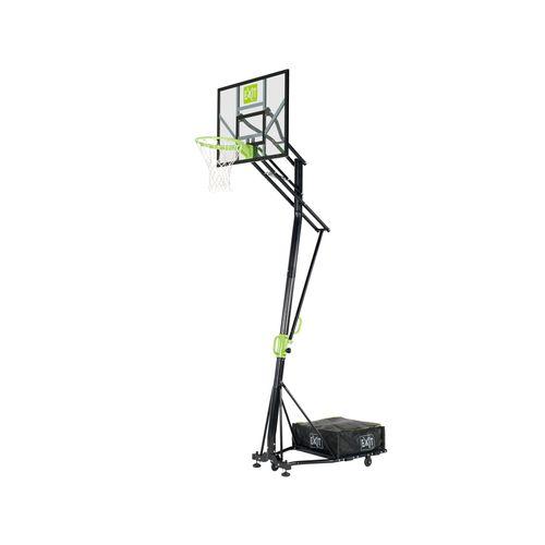 Panneau de basket portable EXIT Galaxy sur roues vert-noir