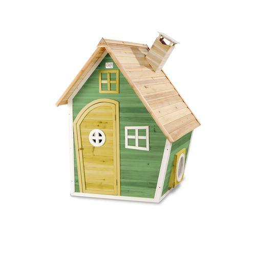 Maisonnette en bois EXIT Fantasia 100 vert