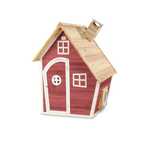 Maisonnette en bois EXIT Fantasia 100 rouge