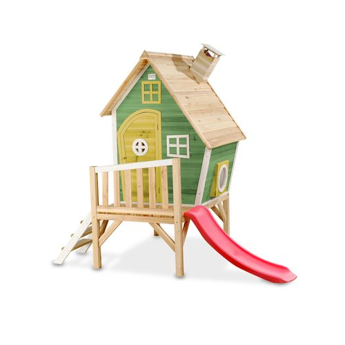 Maisonnette en bois EXIT Fantasia 300 vert