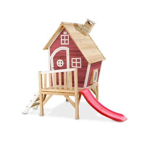 Maisonnette en bois EXIT Fantasia 300 rouge