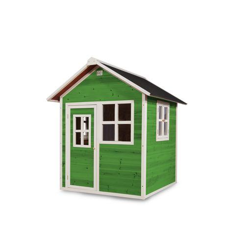 EXIT Loft 100 houten speelhuis groen