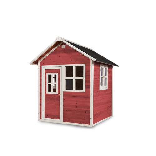 Maisonnette Exit 'Loft 100' bois rouge