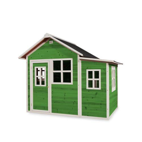 EXIT Loft 150 houten speelhuis groen