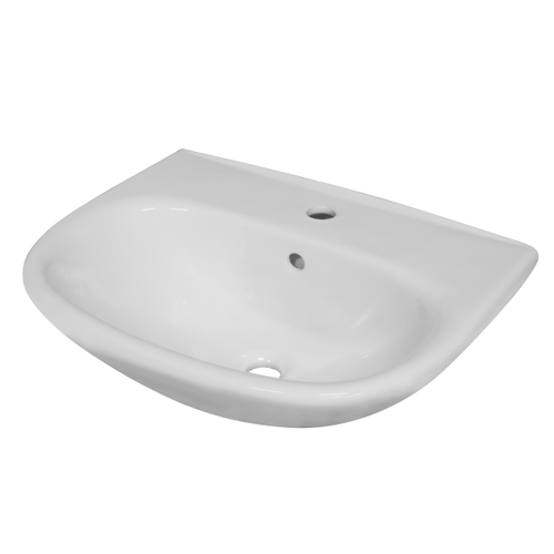 Lavabo AquaVive Serre céramique 55x44cm blanc