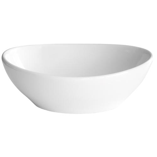 Vasque à poser AquaVive Aire céramique 40x33x14cm blanc
