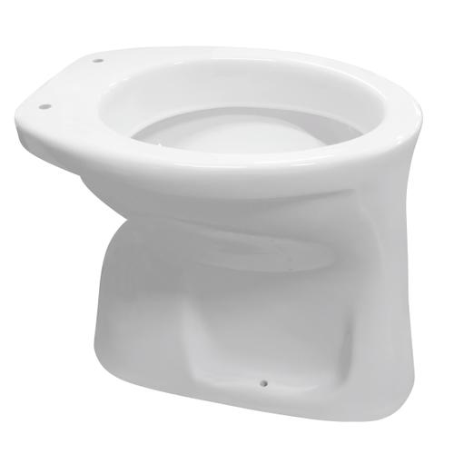 Aquavive closetpot Odet vlakspoel AO/CA voor inbouwreservoir wit