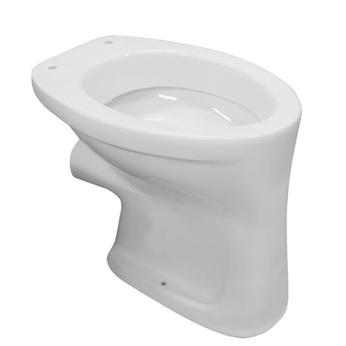 Aquavive closetpot Odet vlakspoel PK/H voor inbouwreservoir wit