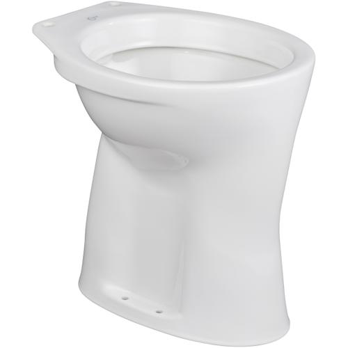 AquaVive closetpot Blavet vlakspoel AO/CA voor inbouwreservoir wit verhoogd +6cm