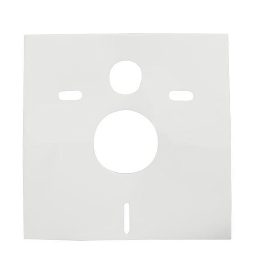 Isolatiemat voor wandcloset wit