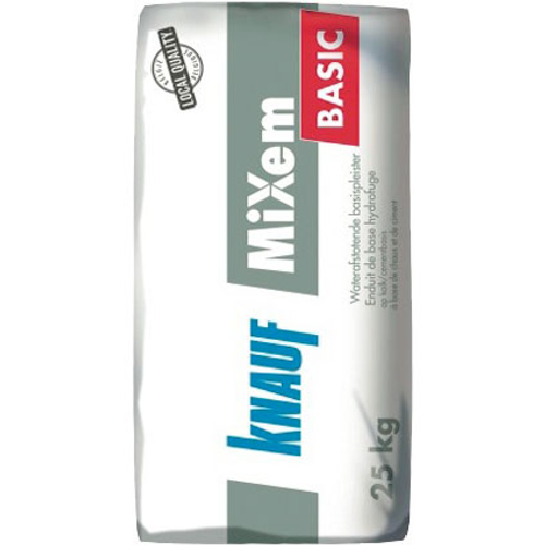 Knauf waterafstotende basispleister 'Mixem Basic' 25 kg