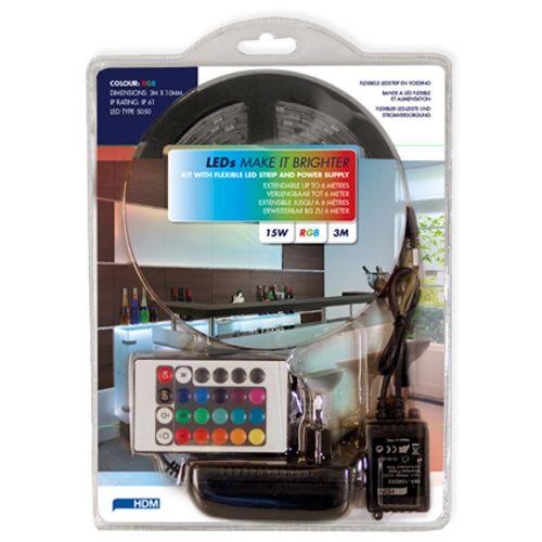 Bande à LED HDM flexible RVB 3m