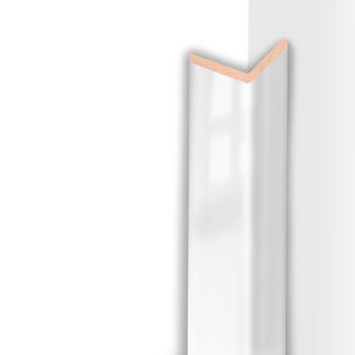 Moulure d'angle HDM super blanc brillant 32mm