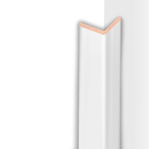 Moulure d'angle HDM super blanc mat 32mm