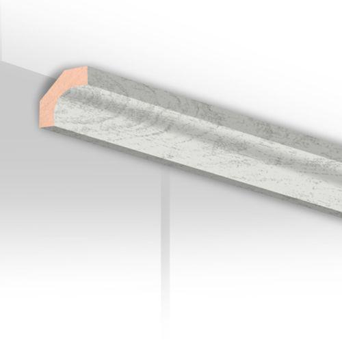 Moulure de finition HDM chêne blanc 24mm