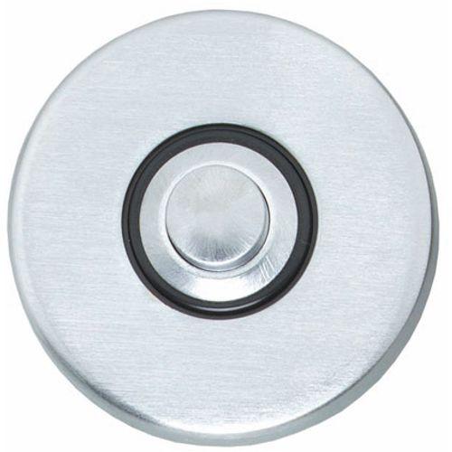 Intersteel beldrukker rond verdekt chroom mat