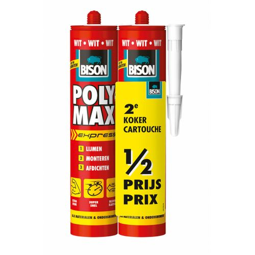 Bison montagekit poly max express wit CRT