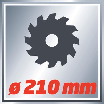 Einhell radiaal afkortzaag TCSM2131 Dual 1800W