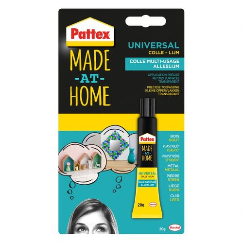 Colle universelle Pattex 'Made At Home' 20g