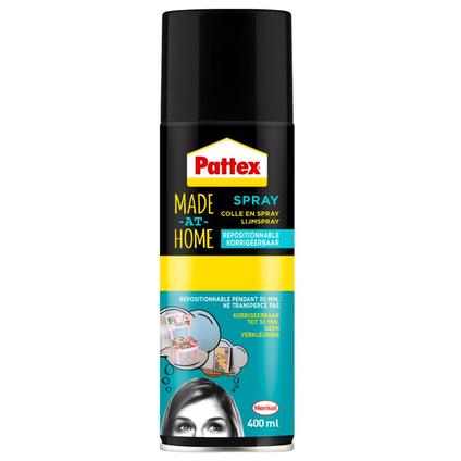 Pattex herpositioneerbaar lijm spray 400ml