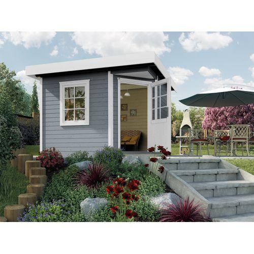 Weka tuinhuis 213 GR2 grijs 298x298cm